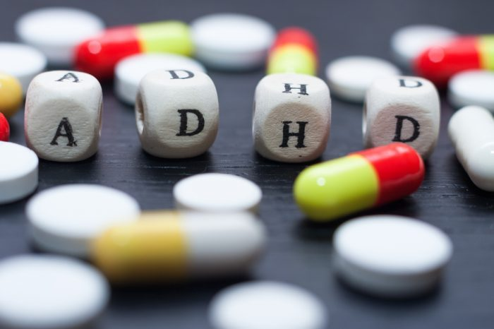 blocks spelling adhd in amongst pills