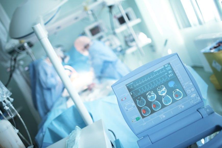 Stroke Patient in Emergency, brain hemorrhage
