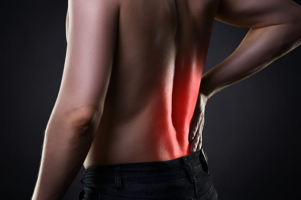 Lower Back inflamed