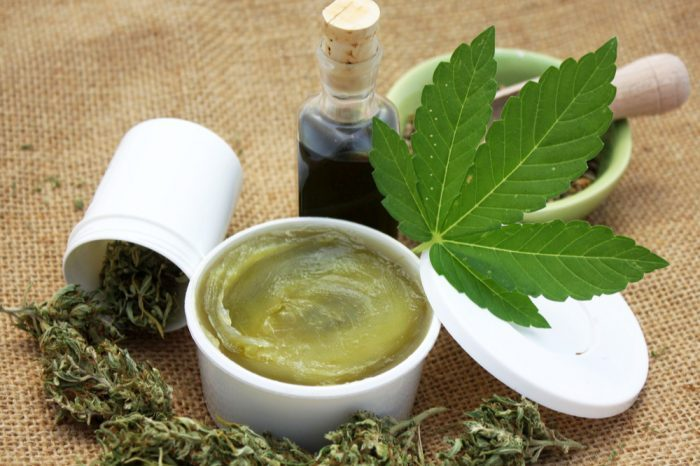 cannabis salve for help with symptoms of radiation treatment