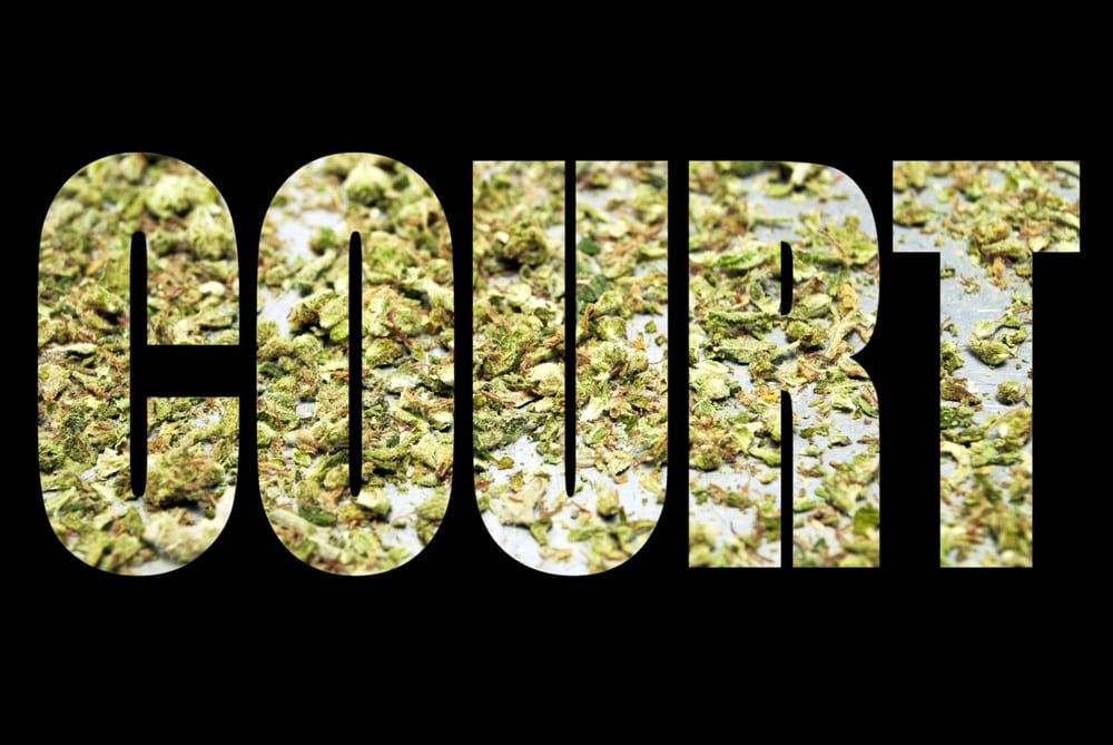 Judgement Court Made of Cannabis