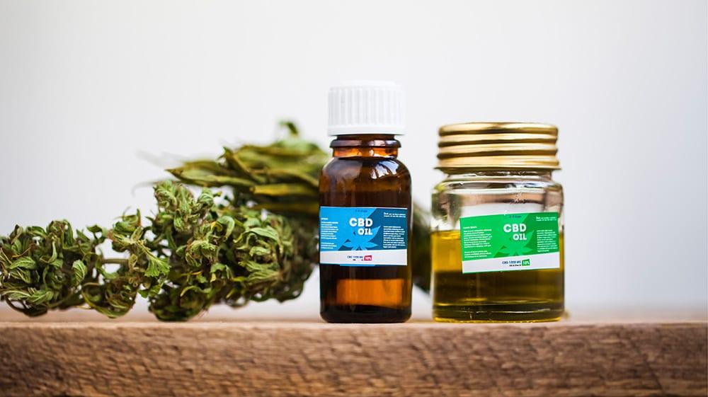 Dry Bud with CBD oil