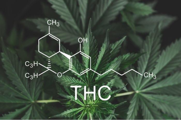 molecular formula for THC