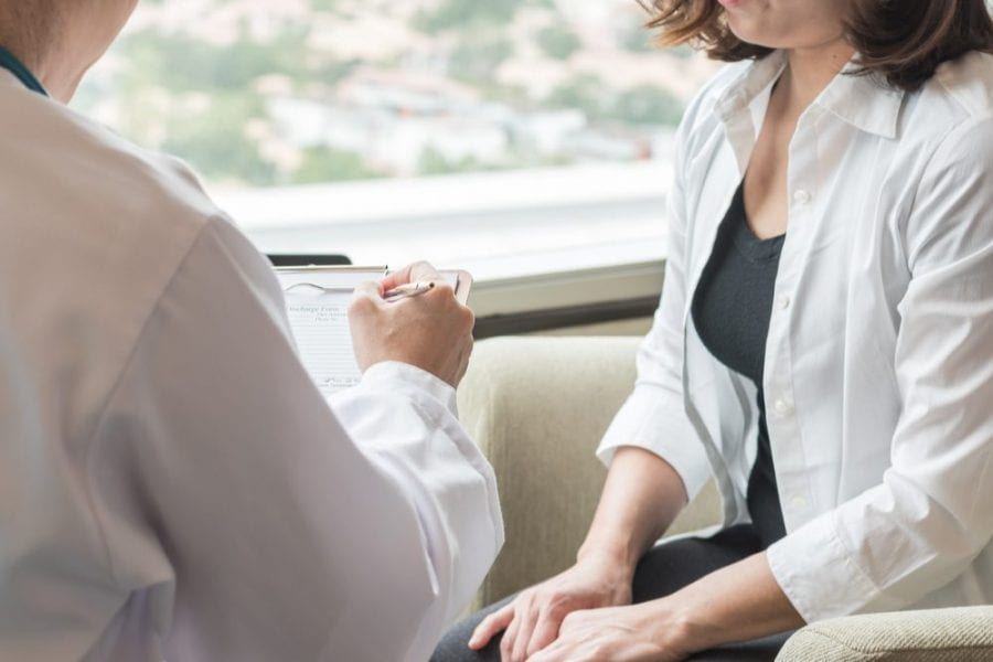 menopause doctor appointment
