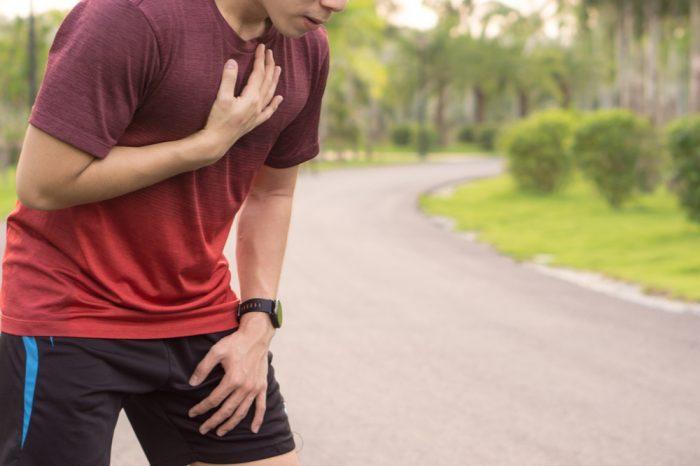hiatus hernia hurting this runner