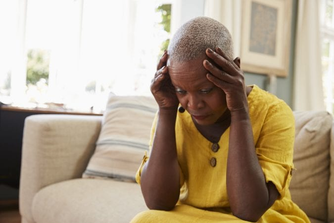 Dementia Black Woman