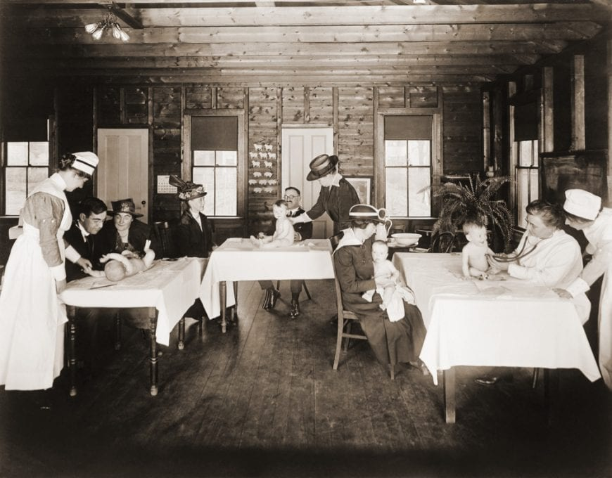 1915 Well Baby Clinic