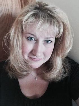Valerie blonde woman personal profile picture MS patients