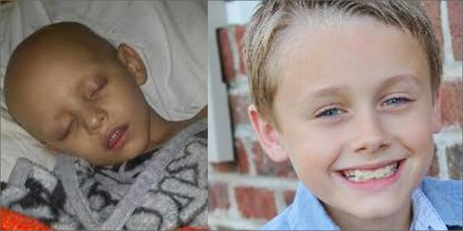 Landon Riddle while on chemo versus while on cannabis