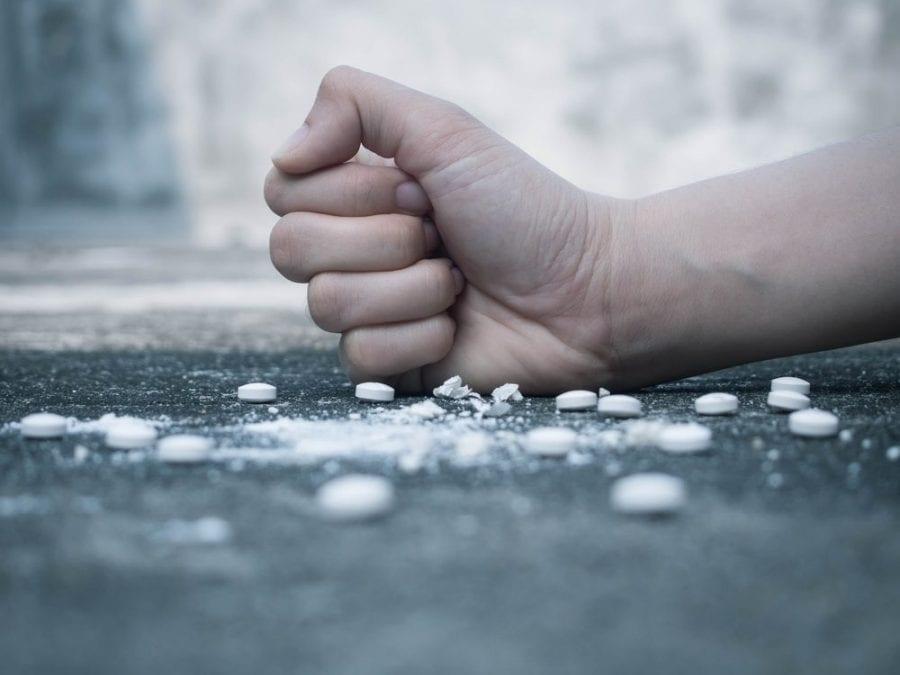 hands crushing pain meds