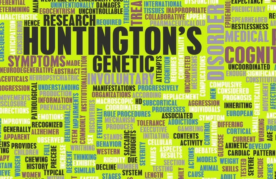 Huntington's Word Graphic