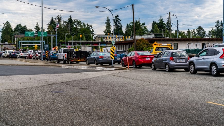 Border Crossing Vancouver