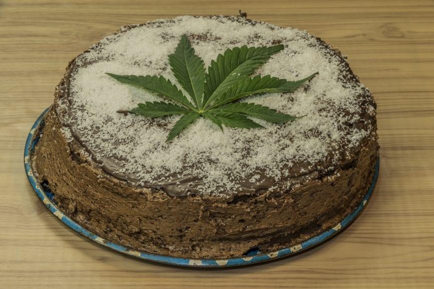 Incredible Edible Cannabis Cake