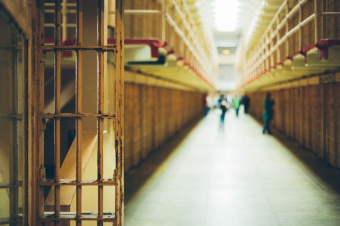 Inside of prison