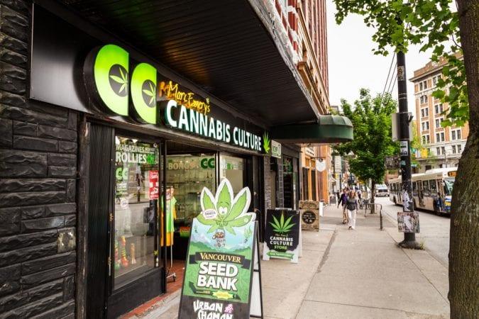 cannabis, Canada, CBD, THC, recreational, legalization, dispensary, storefront, cannabinoids, end prohibition