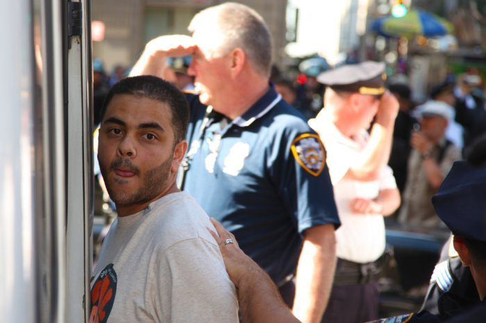 an arrest in new york city
