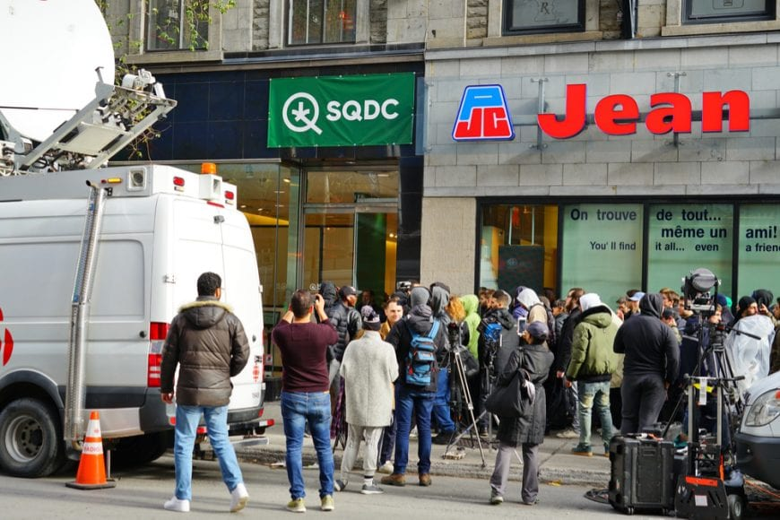 cannabis, Quebec, supply, Canada, legalization, shortage, medical cannabis, recreational cannabis, economy, cannabis dispensaries, distributors