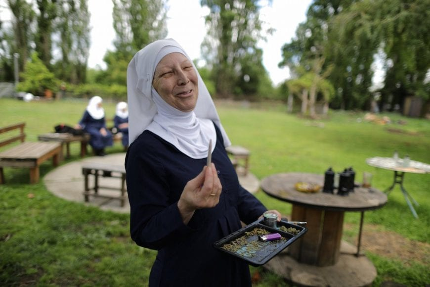 cannabis, sisters, of the valley, weed nuns, medical cannabis, CBD, THC, CBD products, hemp, California, USA, legalization, Canada, medical products, women's commune