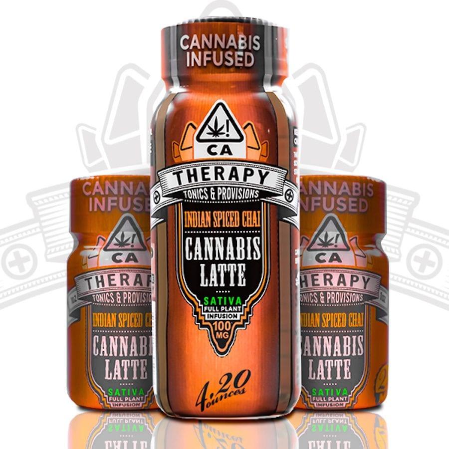 cannabis, recreational cannabis, coffee shops, coffee, cannabis coffee, THC, CBD, caffeine, cannabis infused coffee beans, spiced chai, Therapy Tonics