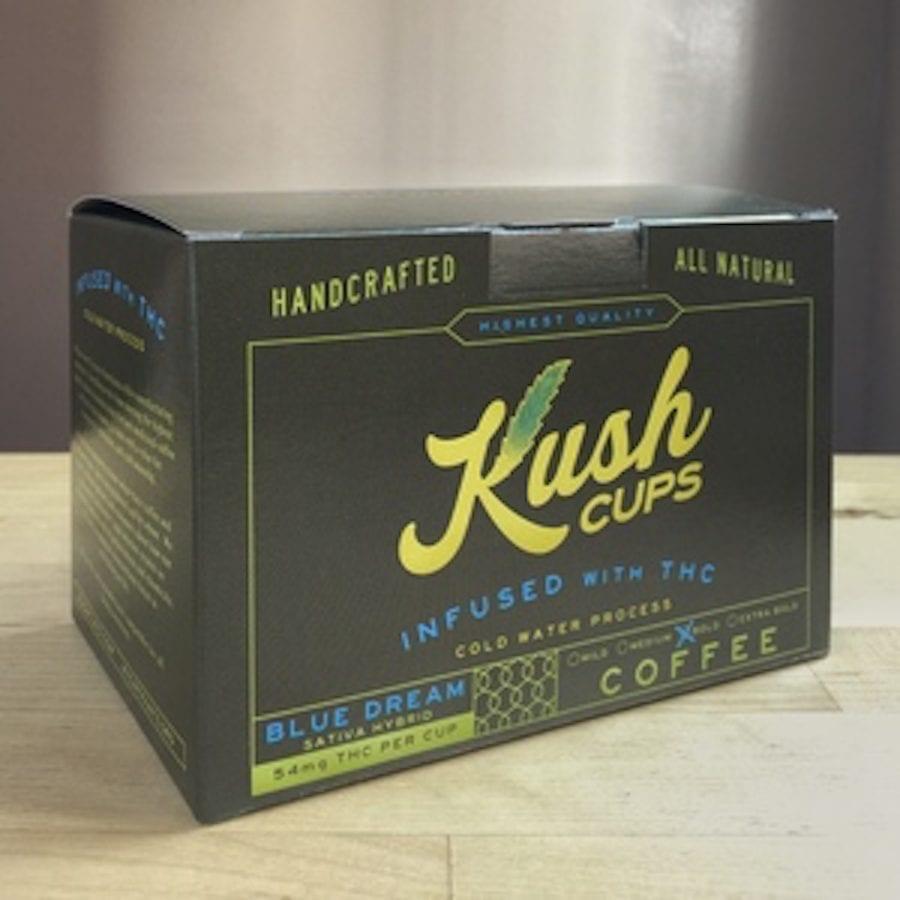 cannabis, recreational cannabis, coffee shops, coffee, cannabis coffee, THC, CBD, caffeine, cannabis infused coffee beans, Kush Cups