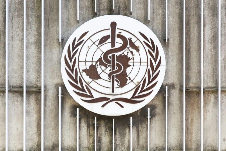 WHO logo deschedule cannabis