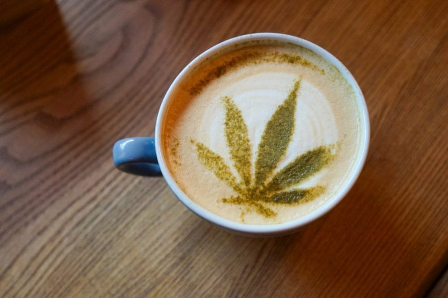 Jamaica, weed tea, cannabis, medical cannabis, pregnancy, morning sickness, nausea, honey, tea latte, recipes, cannabinoids, THC, CBD, recreational cannabis, cannabis latte,