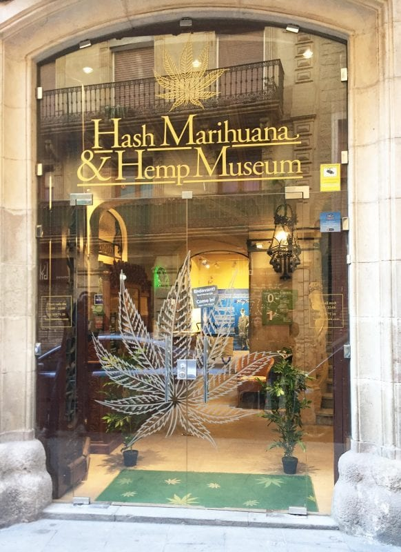 cannabis museum exterior view