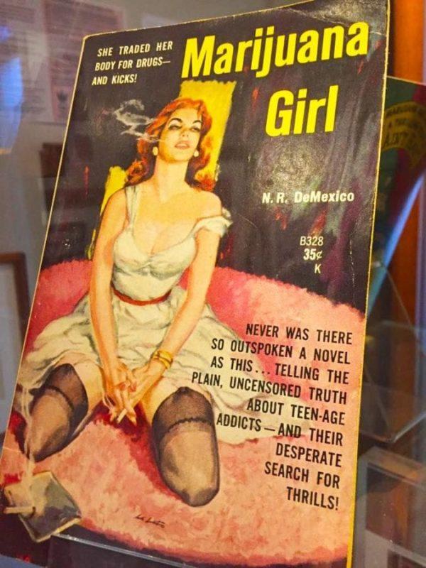 cannabis museum novel marijuana girl