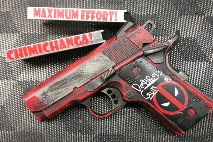 Dead Pool Kids Gun