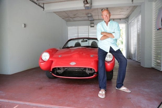 bruce dietzen designer for renew hemp car