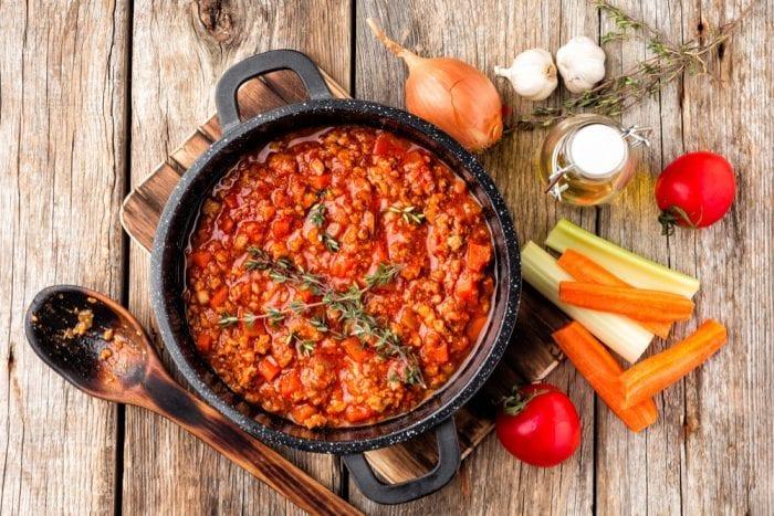 bolognese, cannabis, Pasta Sauce, canna oil, edibles, medibles, CBD, THC, pain, health benefits
