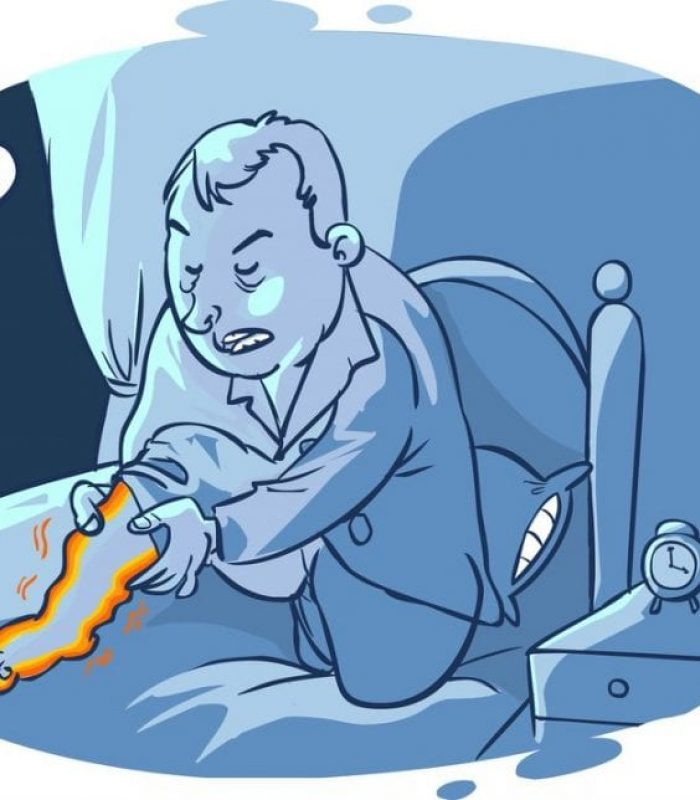 Maybe Cannabis Can Quiet Restless Leg Syndrome?