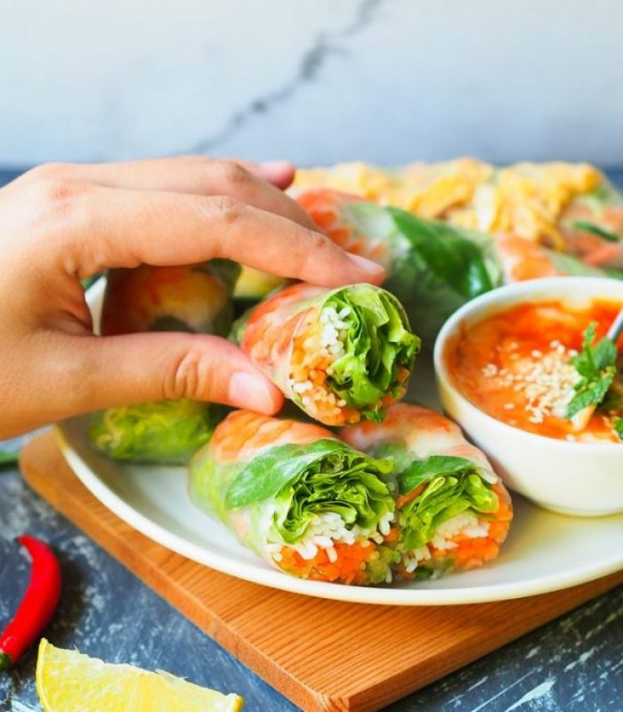 Get The Summer BBQ Rolling With Some Cannabis Spring Rolls
