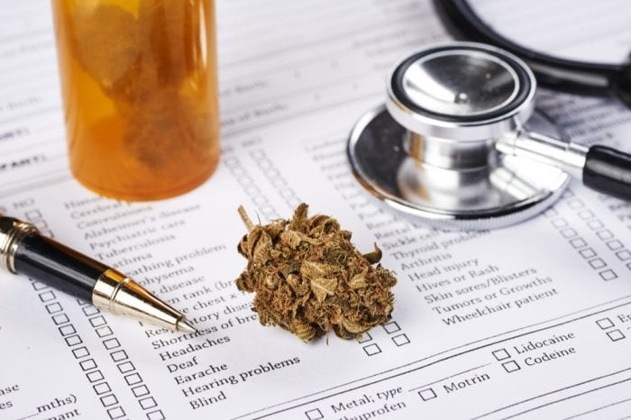 doctor sheet and cannabi