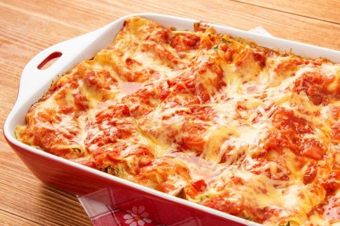 weed-infused lasagna