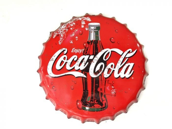 Coca Cola bottle cap