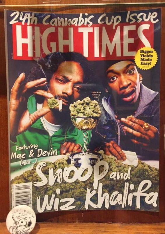 old high times magazine with snoop dog