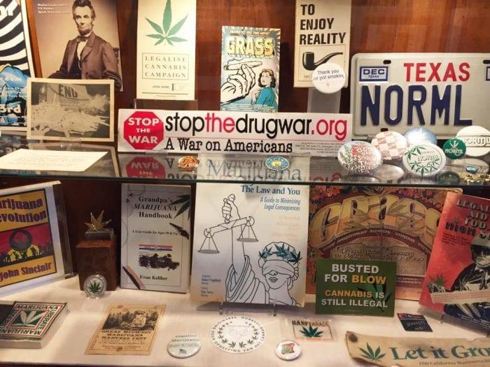 cannabis museum stuff