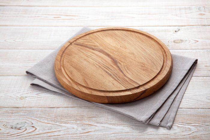 cutting board made from hemp wood