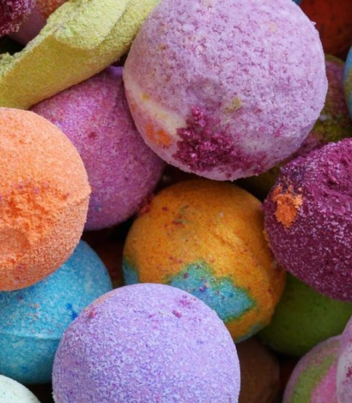 Try a Cannabis Bath Bomb For Your Skin