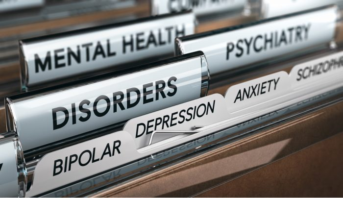 files from doctor\'s office representing mental health