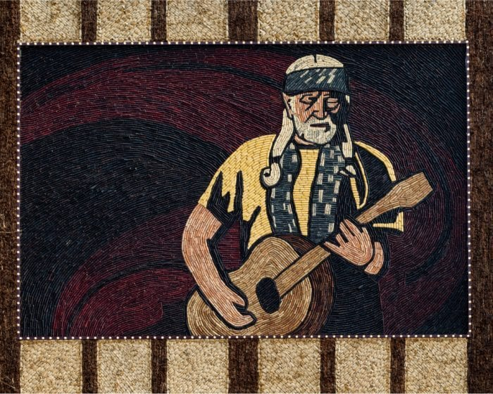 willie nelson wall hanging