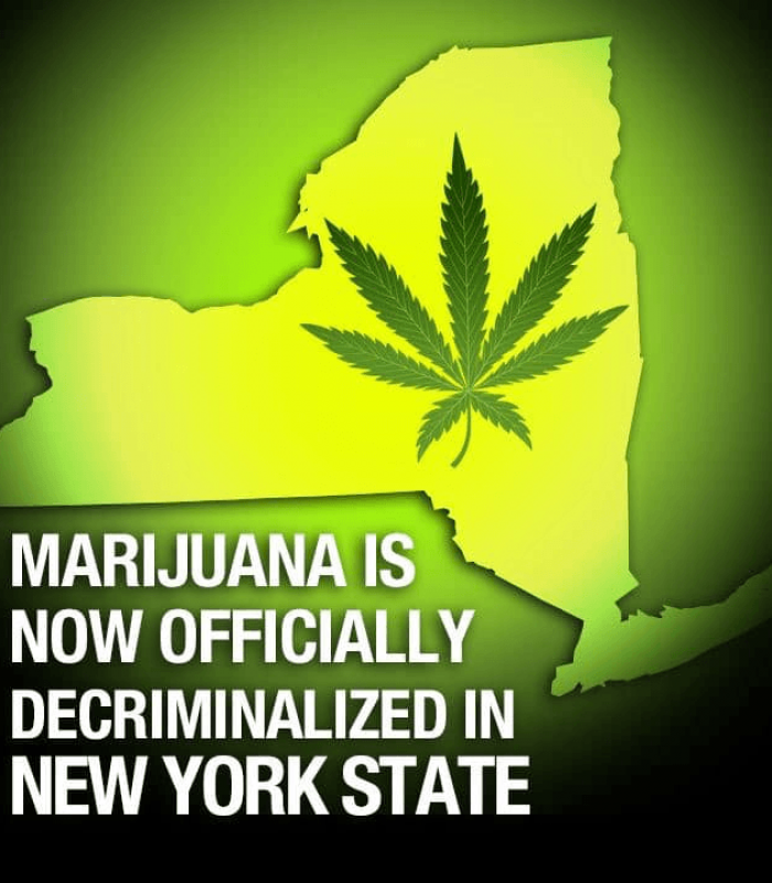 New York Votes To Decriminalize And Expunge