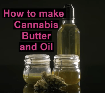DIY, make your own butter, make your own cannabis oil, cannbutter, cannabis oil,