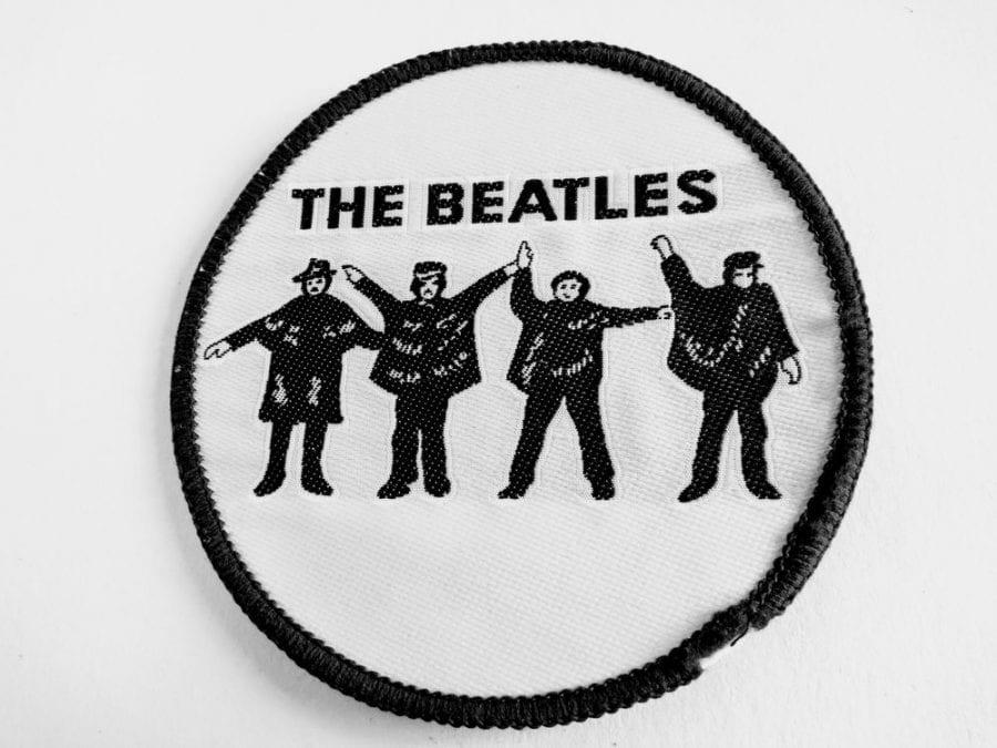 Beatles jacket patch