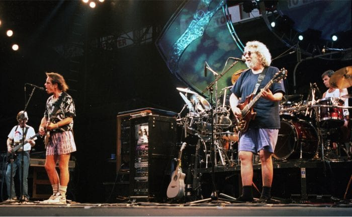 grateful dead onstage