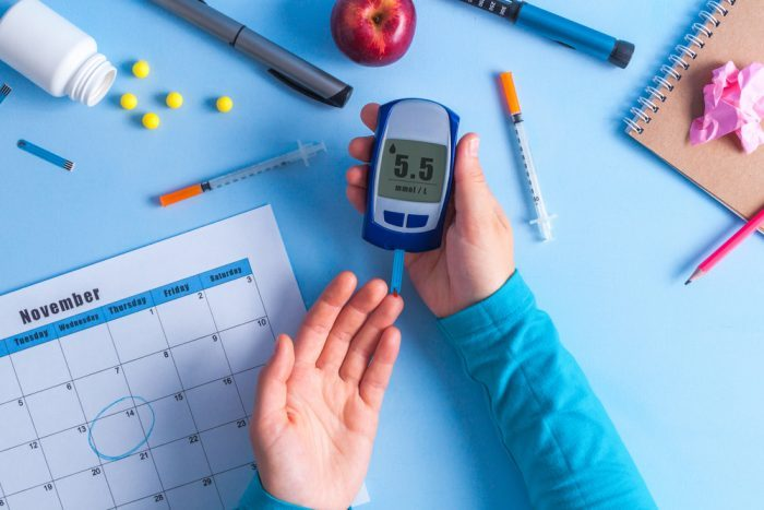 person with diabetes, which can be helped by cbd isolate