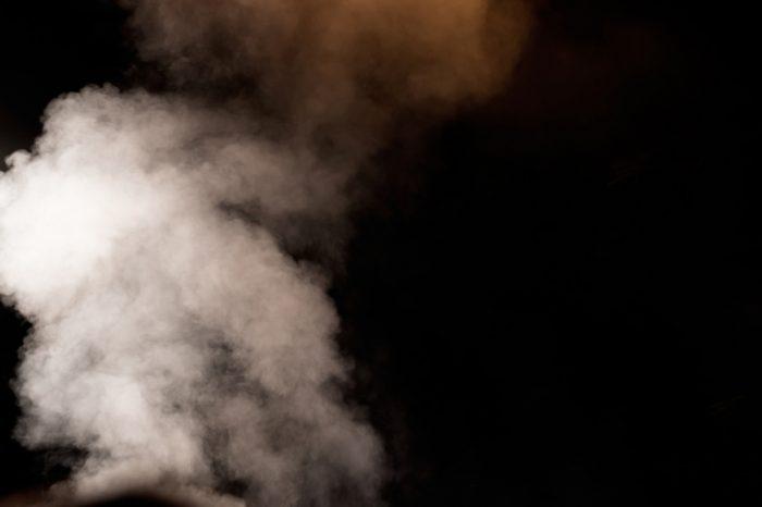 blackness and vapor