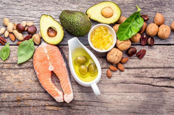 high natural fats foods