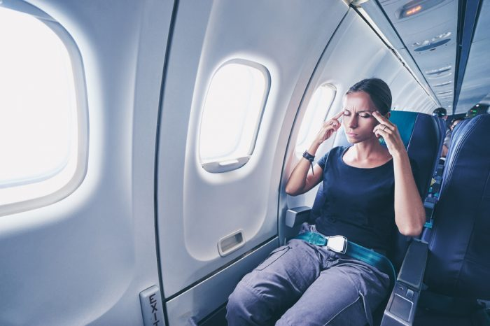afraid on a plane, and in need of fear extinction